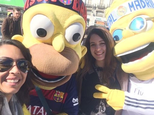 Ambushed by the Simpsons in Sol