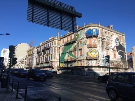Lisbon's beautiful, not tacky, graffiti