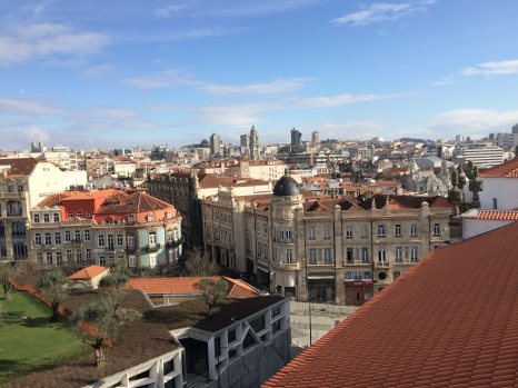 A view of Oporto from the Clerigos Tower